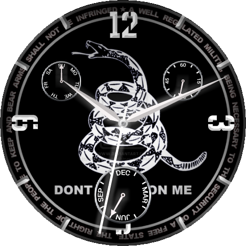 Don't Tread On Me - Don T Tread On Me (480x480), Png Download