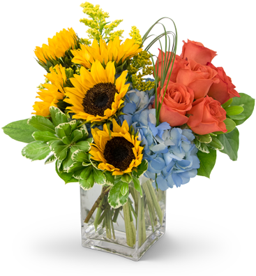 Download Summer Fun Flower Arrangement - Flowers Port Png PNG Image with No  Background - PNGkey.com