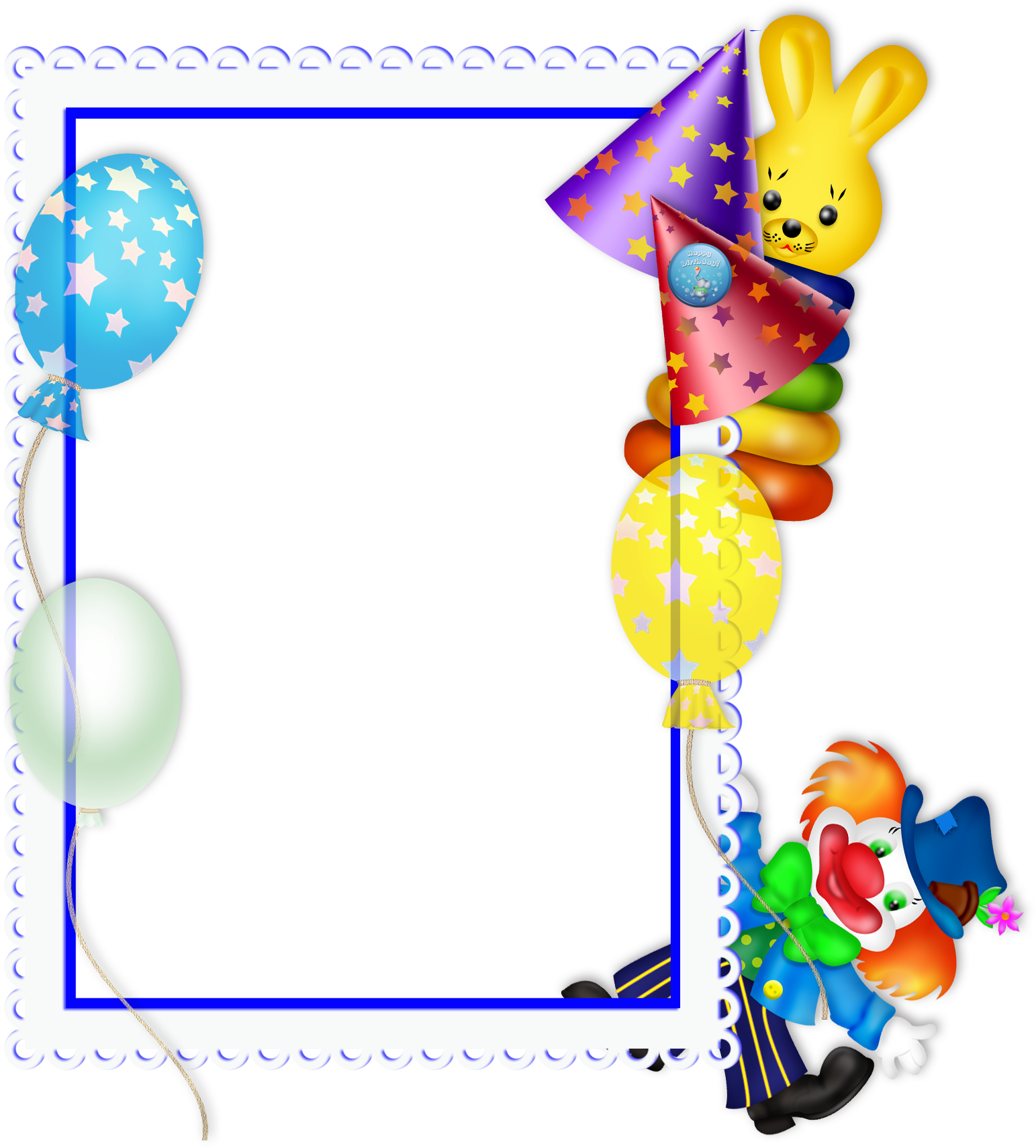 Birthday Free Transparent - Happy Birthday Theme Png (550x600), Png Download