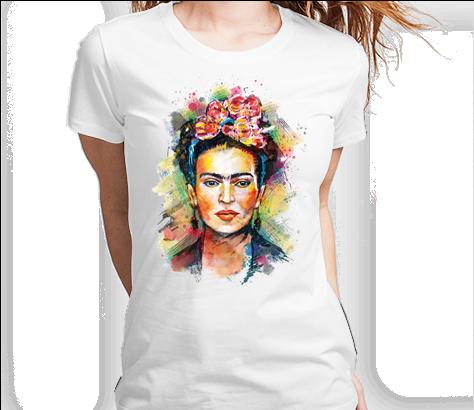 Frida Kahlo Tshirt Camiseta Camisa Tee - Frida Kahlo Painting Art Ipod Touch 6 Case (494x409), Png Download