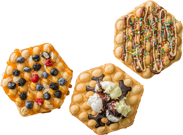 Ready To Use Waffles And Pancakes Mix - Baked Goods (600x442), Png Download