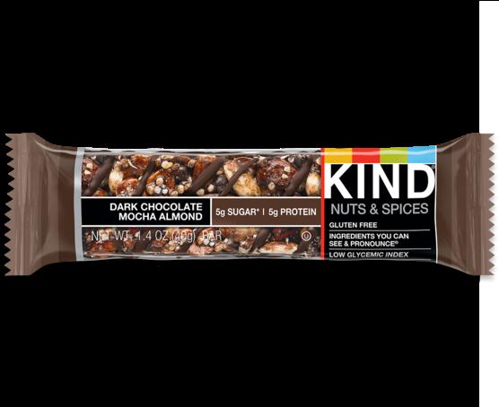 Download Kind Bars Dark Chocolate Almond Clipart Chocolate - Kind Bars Dark Chocolate Almond (899x453), Png Download