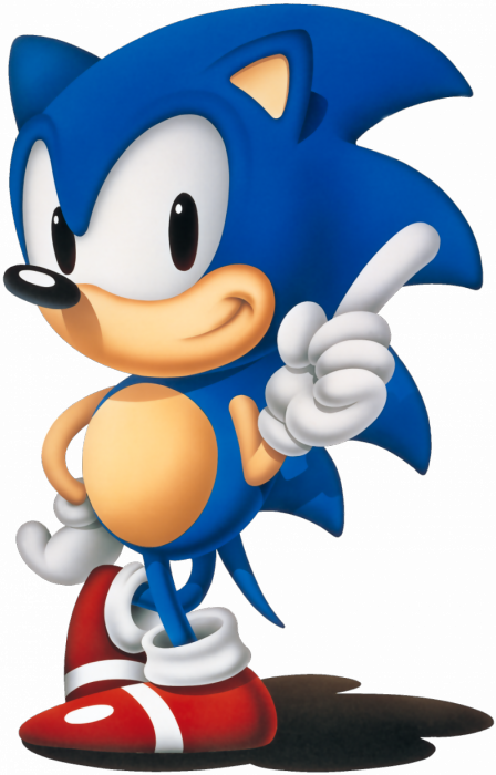 """""""we At Sonic Team Are Developing A Completely New Game, - Sonic The Hedgehog 1991 Png (448x700), Png Download"""