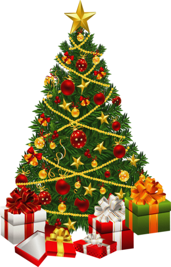 Download Christmas Tree Clipart Transparent Background