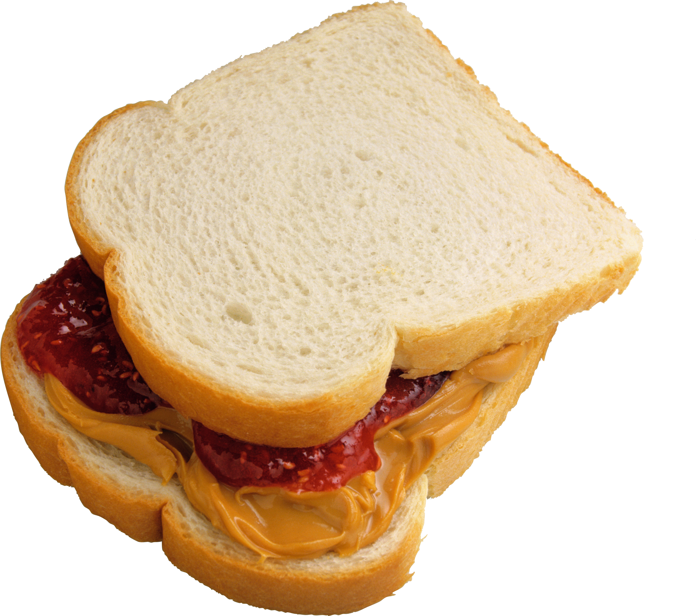 Burger And Sandwich Png Images Download Pictures Vector - Peanut Butter And Jelly Sandwich Png (2847x2519), Png Download