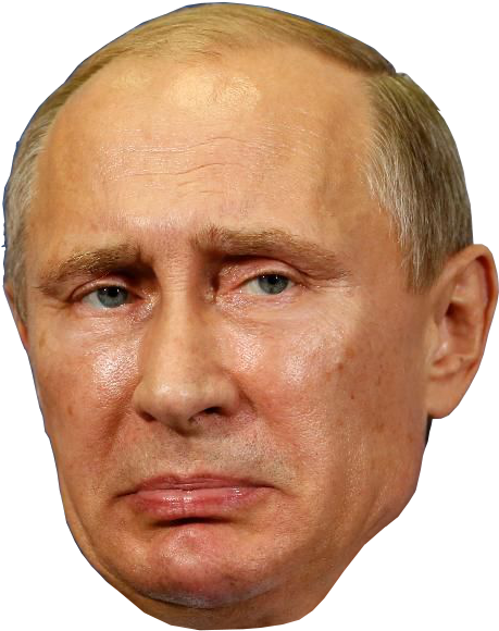 Download President Of Russia G Vladimir Putin Head Png Image With No Background Pngkey Com