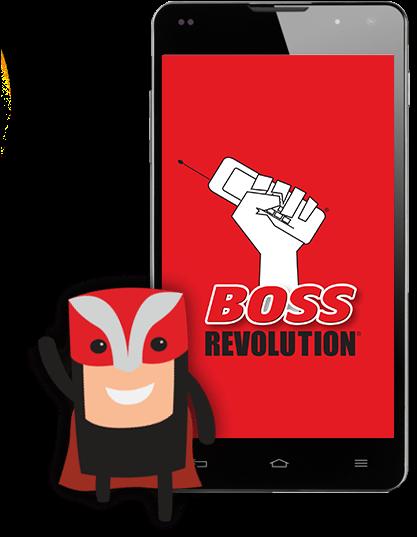 boss revolution en espanol