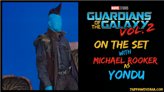 Michael Rooker As Yandu In Guardians Of The Galaxy - Marvel's Guardians Of The Galaxy Vol. 2 Prelude (1100x550), Png Download