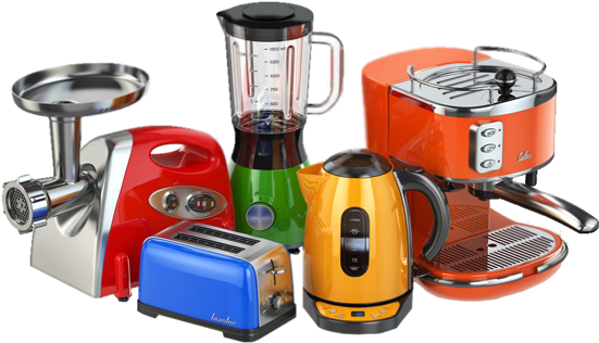 Download Home And Kitchen Appliances Png Kitchen Electrical