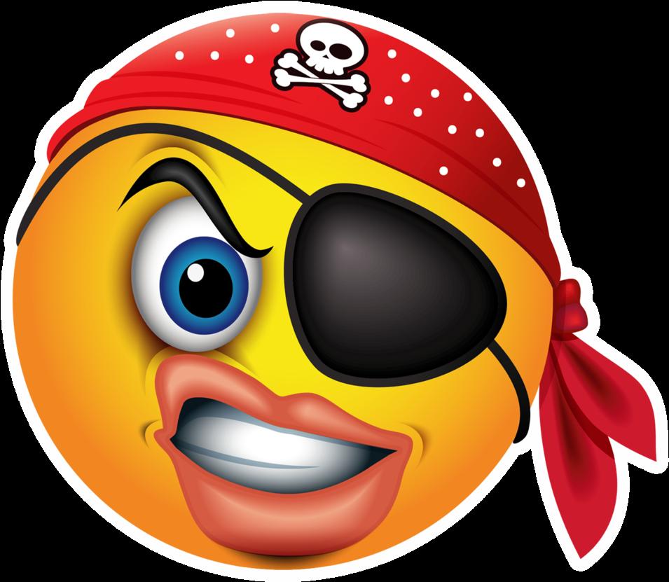 картинки смайлики с пиратами уговорила