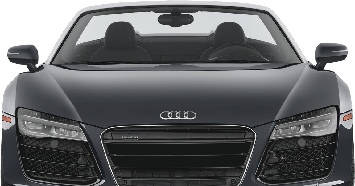 Audi R8 front view