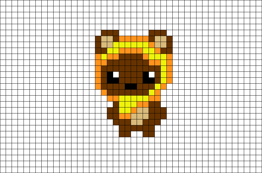 Download Pixel Art Star Wars Ewok Png Image With No