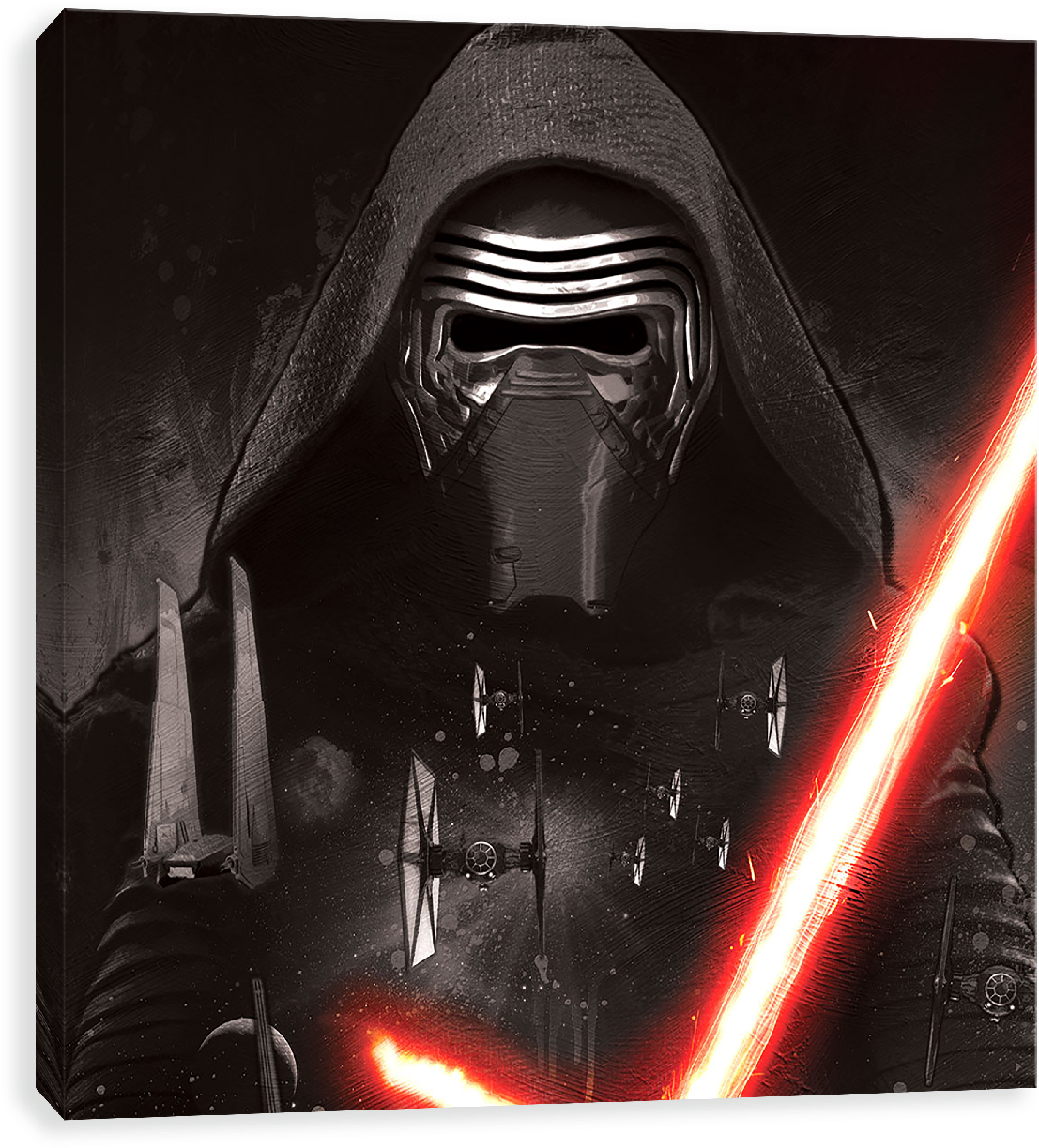 Download Kylo Ren Rising Star Wars The Force Awakens Wallpaper For Android Png Image With No Background Pngkey Com
