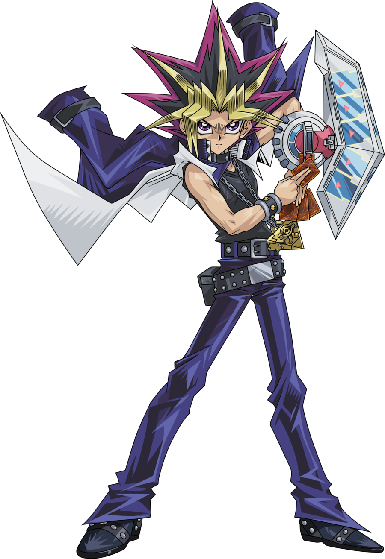 Yu Gi Oh Duel Monsters Yami Yugi Atem Render By Raidengtx-db6swvx - Yu Gi Oh Yugi (900x1309), Png Download