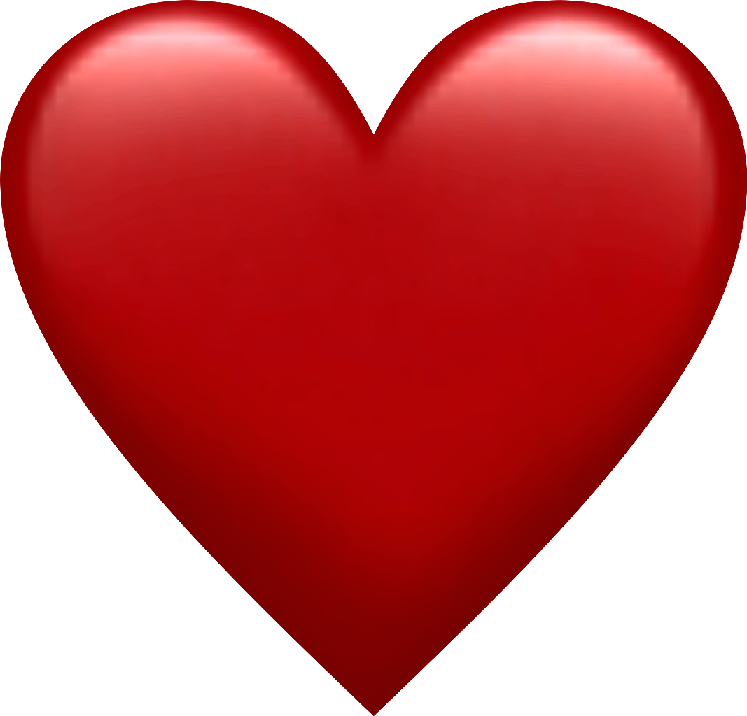 Download Red Heart Emoji Png   Heart Vector Png PNG Image with No ...