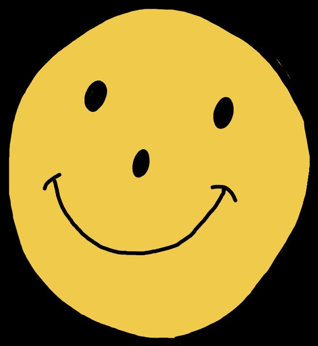 Happy Spongebob Cool Cute Yellow Face Tumblr Stickersg - Carpanta Comic (1024x1024), Png Download