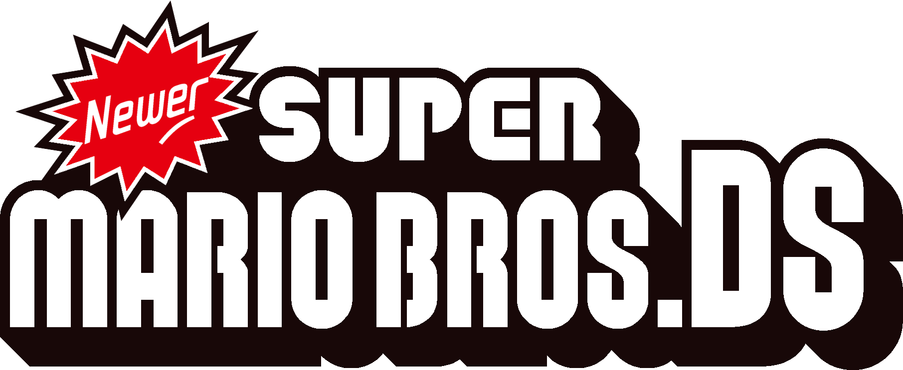 New Fan Created Super Mario Bros - Newest Super Mario Bros Ds (1811x743), Png Download