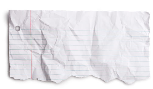 Torn paper transparent note. Download notebook png clip