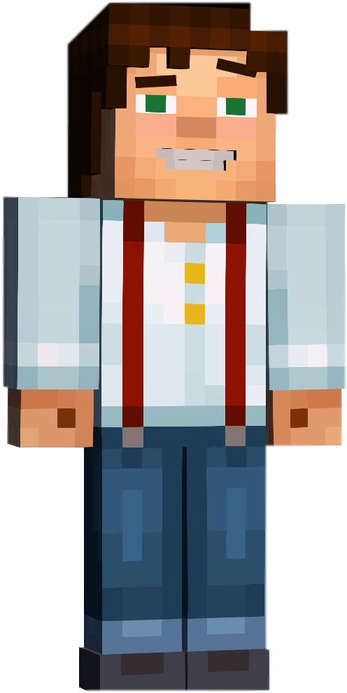 Download Jesse Minecraft Story Mode Characters Jesse Png Image With No Background Pngkey Com