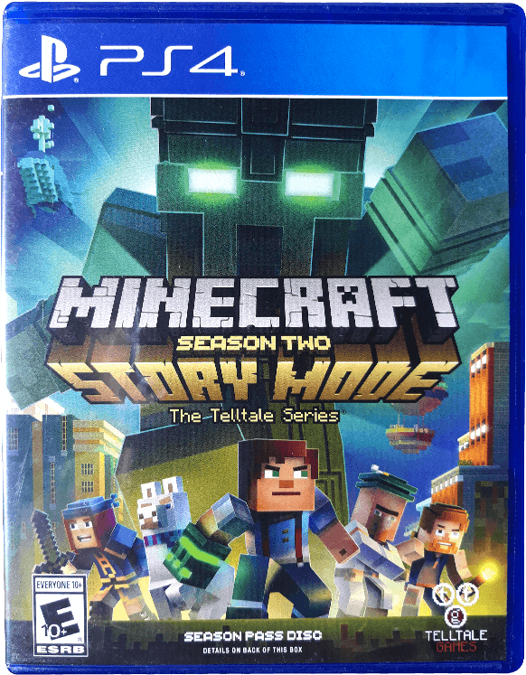 Download Minecraft Story Mode Season 2 Ps4 Png Image With No