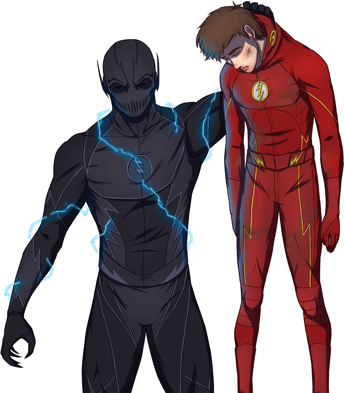 Download Flash Drawing Reverse Reverse Flash Iphone Wallpaper Hd