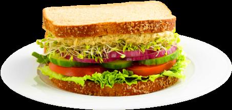 Sandwich Png Transparent Image - Sandwich Png (500x282), Png Download