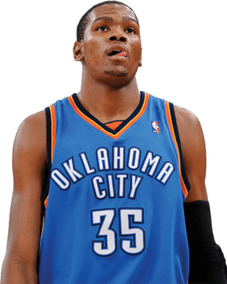 Kevin Durant Ready - Kevin Durant Without Background (319x400), Png Download