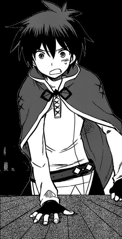 Download Manga Kazuma - Konosuba Kazuma Light Novel PNG Image with