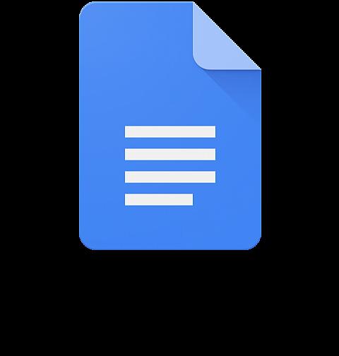 Google Docs Icon - Google Docs Logo Png (650x650), Png Download