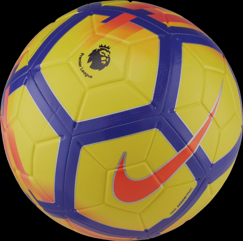 Download Nike Strike Premier League Soccer Ball Premier League Ball Strike Png Image With No Background Pngkey Com