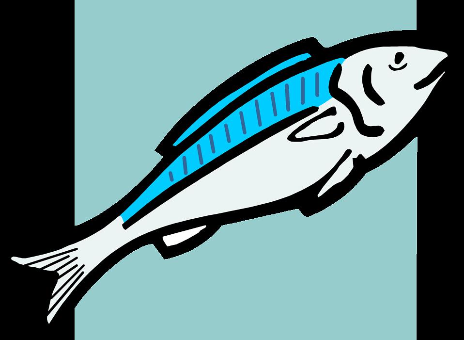 Fish Food Clip Art Png - Fish Food Clip Art (958x701), Png Download