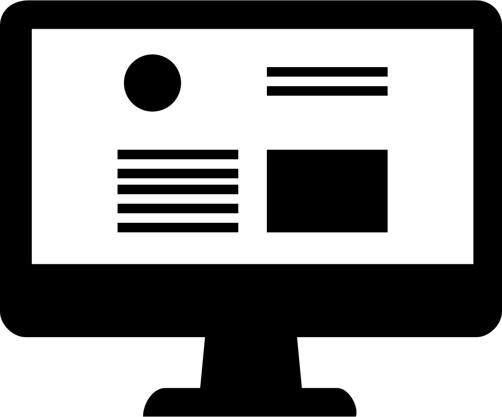 Download Picture Black And White Free Clipart For Website Design Website Design Icon Png Png Image With No Background Pngkey Com