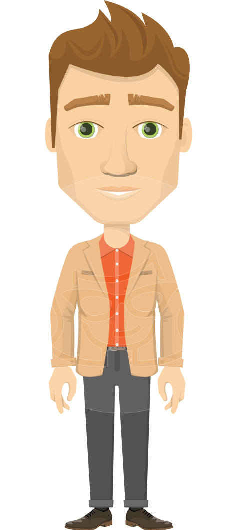 Download Im The Cartoon Office Man Png Png Image With No