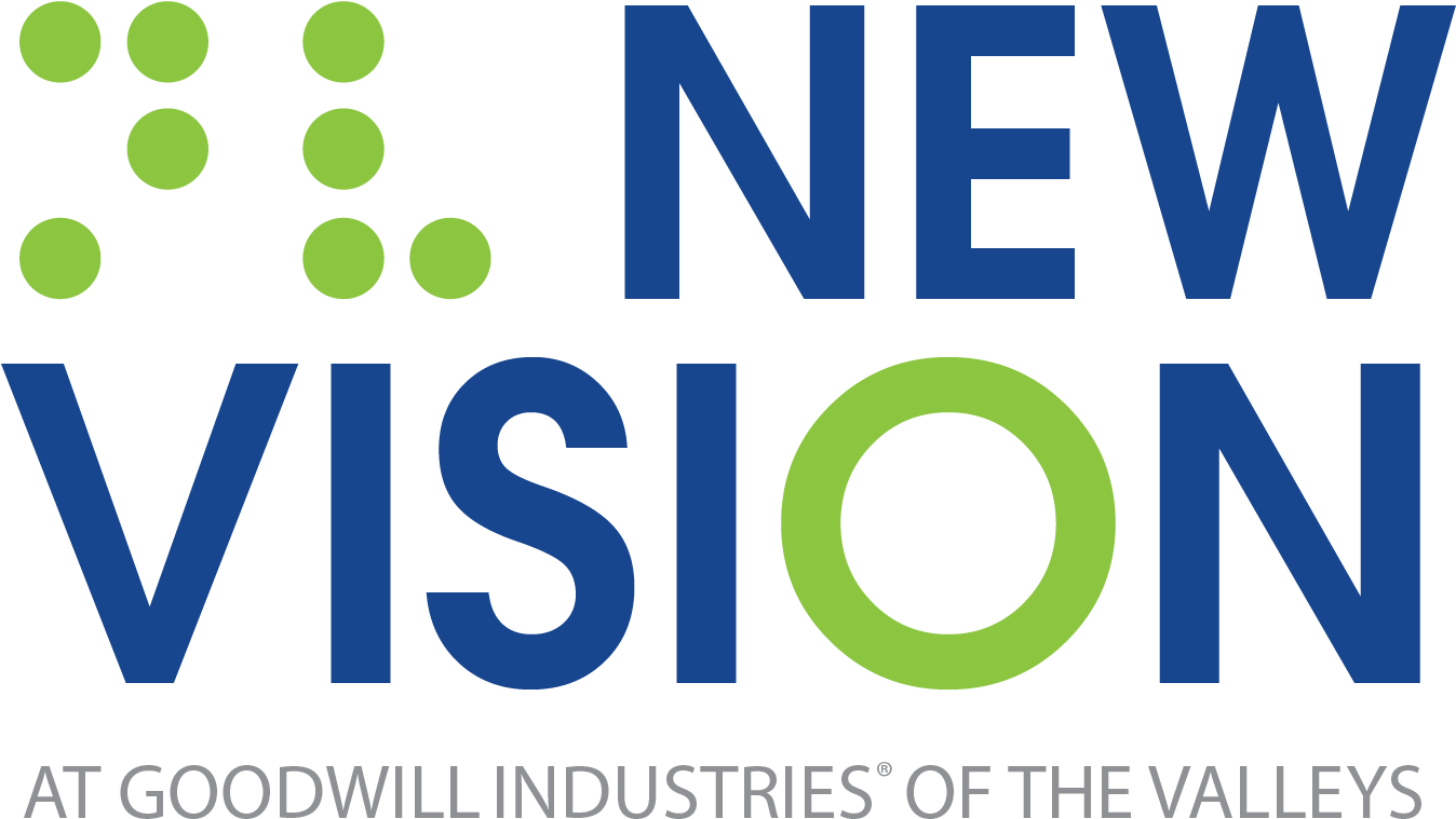 Logo For New Vision At Goodwill Industries Of The Valleys - New York New York Las Vegas Logo (1350x820), Png Download