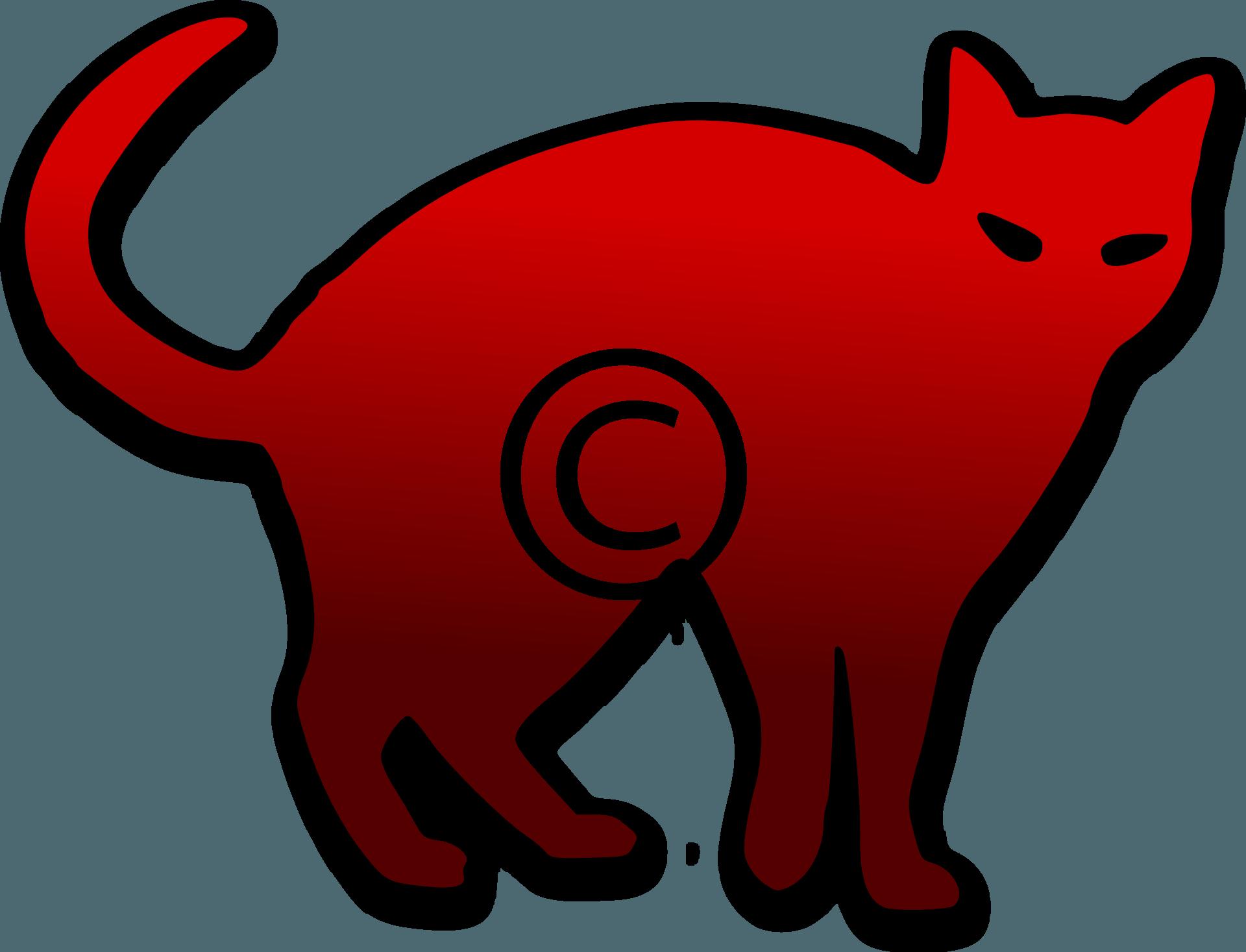 Scarecrow - Png - Gato Negro Para Dibujar (1920x1467), Png Download