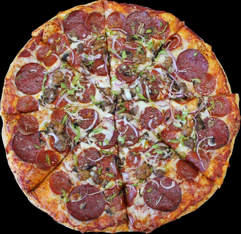 Fresh Slice Pizza Menu Combo - California-style Pizza (800x774), Png Download