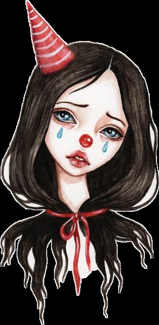 Картинки для срисовки клоун красивые