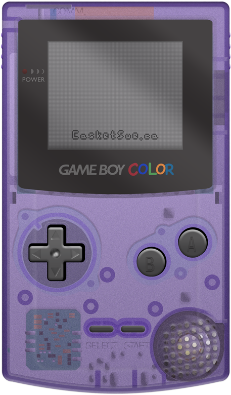 Jpg Transparent Stock Photoshop Recreation On Behance - Game Boy Color Png (600x900), Png Download