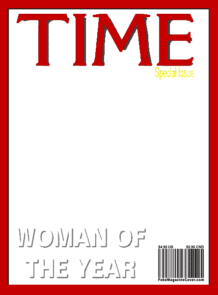 Time Magazine Cover Template Png