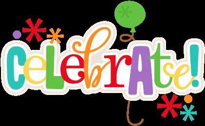 Image Freeuse Stock Clip Art Celebration Celebrate - Celebration Clip Art (432x425), Png Download