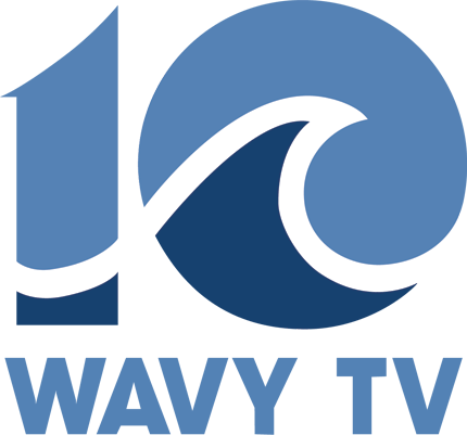 Wavy Tv, The Nbc Affiliate In Hampton Roads, Virginia, - Wavy Tv 10 Logo (430x401), Png Download