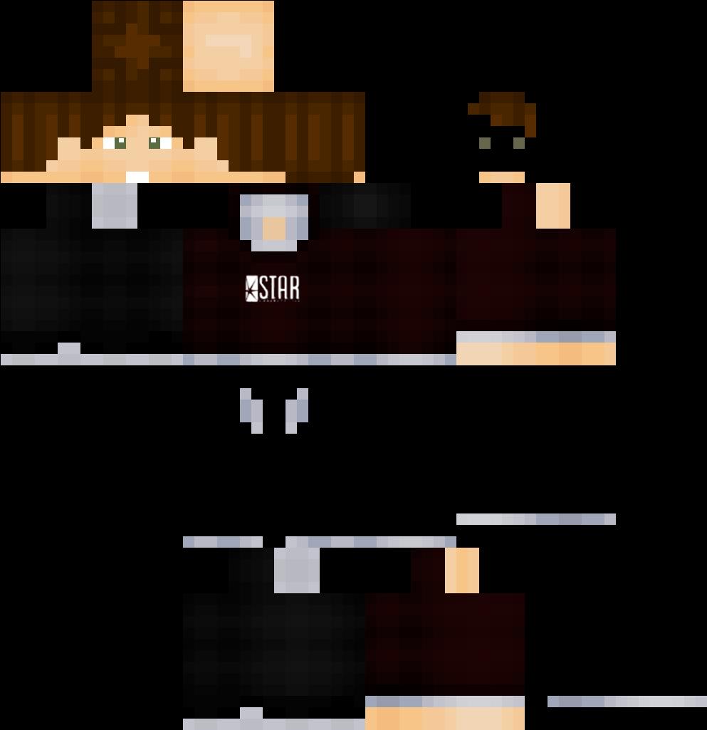 Download The Flash Minecraft Skins - Minecraft Pe Fortnite Skins
