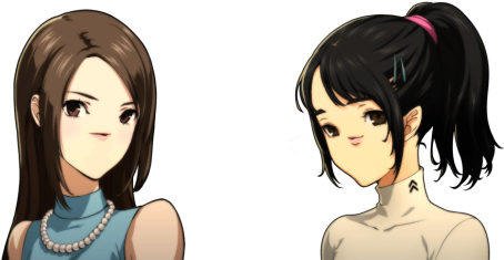 So A Friend Asked Me To Make Noseless Persona 5 Portraits - Persona 5 Makoto Meme (540x270), Png Download