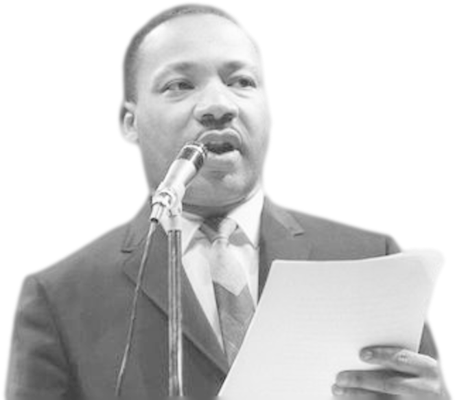Download Martin Luther King Png Image Background Martin Luther