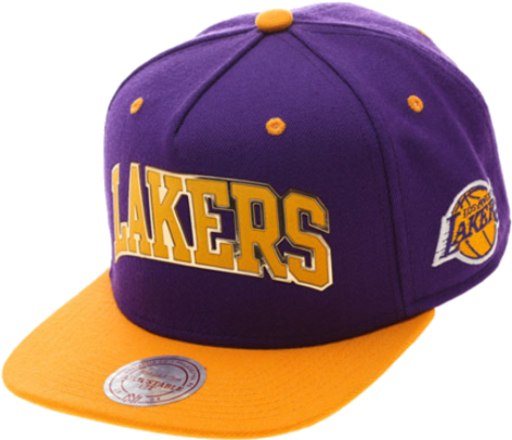 Lakers Snap Back Cap - Los Angeles Lakers (475x475), Png Download