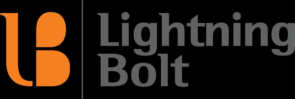 Lightning Bolt Solutions Logo (1000x389), Png Download