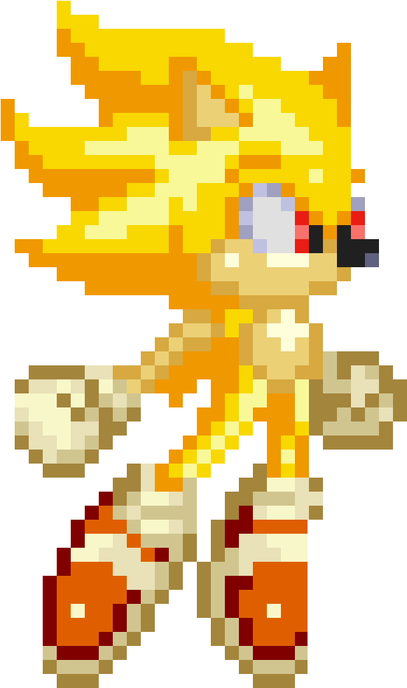 Download Sonic Sprite Png Clip Art - Anti Dll Sprites PNG