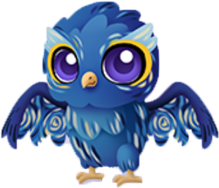 Download Starry Night Owl Baby - The Starry Night PNG Image