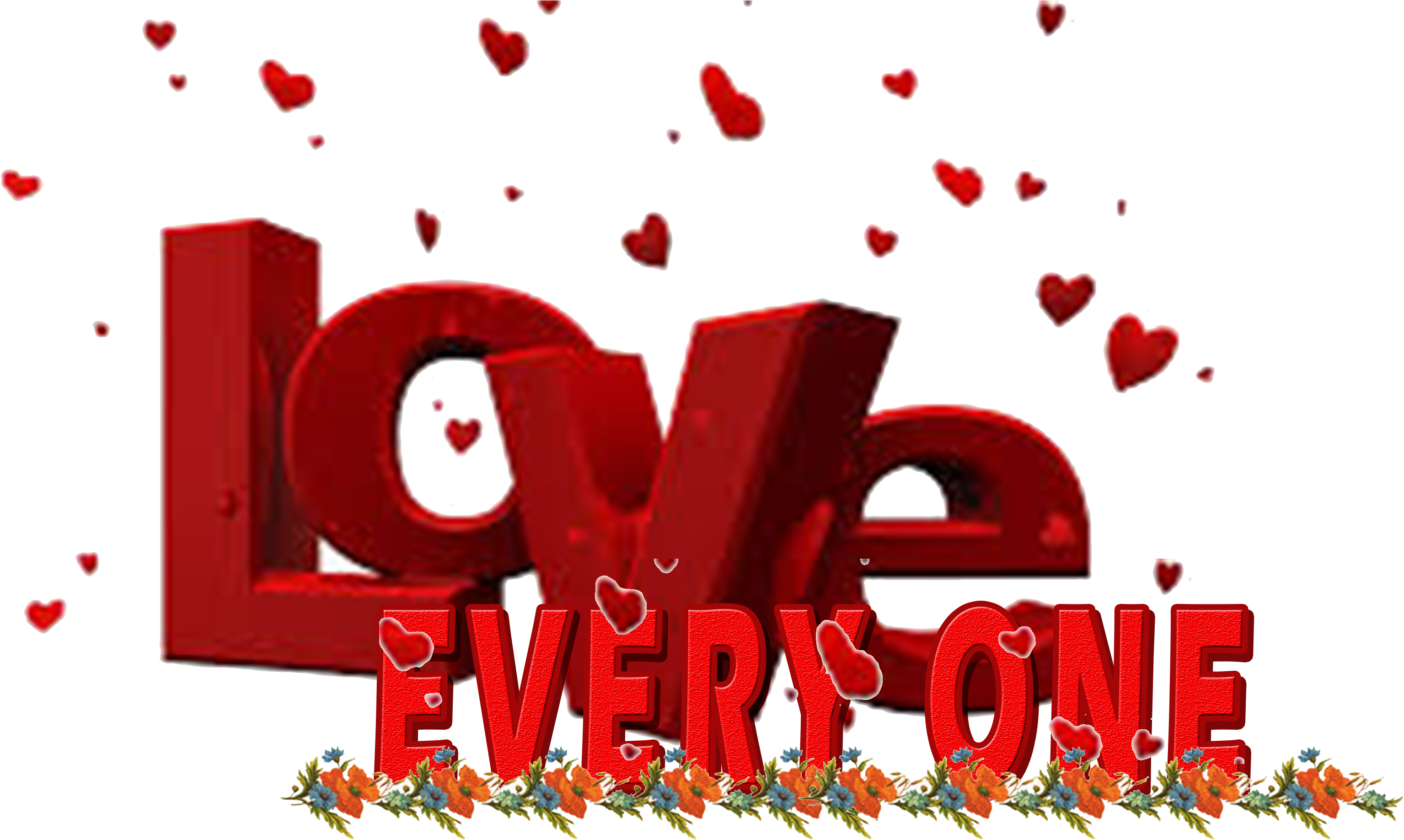3d Name Wallpaper I Love You PNG Image