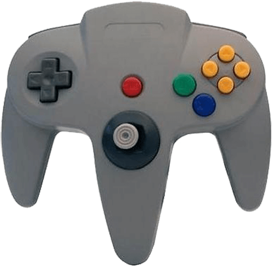 Download Circa, M05786-gr, Nintendo 64, Controller With Long - Cirka N64  Controller PNG Image with No Background - PNGkey.com